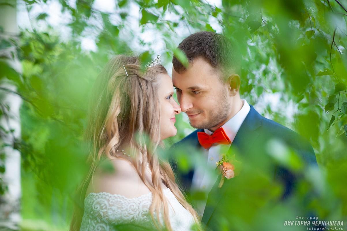 Свадебная фотосессия в Царицыно